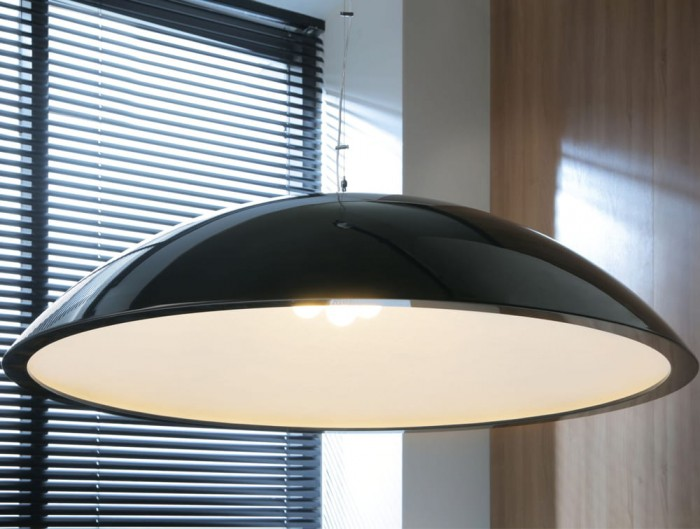 Sunbeam Ceiling Lights for Office Reception and Meeting Rooms in Black