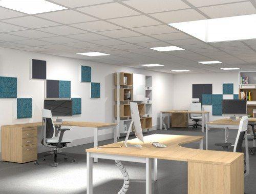 Switch Radial Desks with De