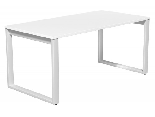 Switch Single Executive Desk Closed Leg 80-TT-WH-WHT-16 in White
