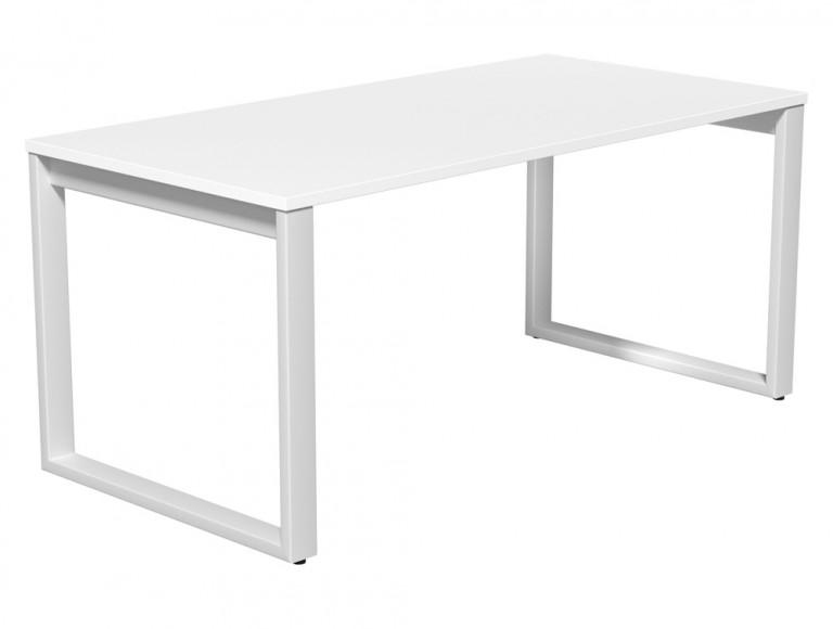 Switch Single Executive Desk Closed Leg 80-TT-WH-WHT-16 in White