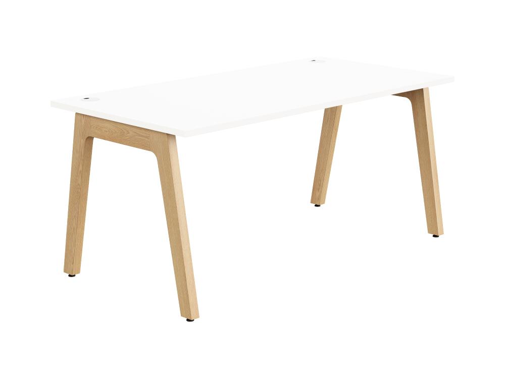 Switch Single Desk in White 1600mm