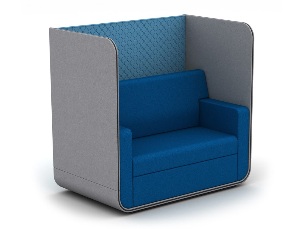 TC-N-ROOF Snug Sofa Booth without Roof