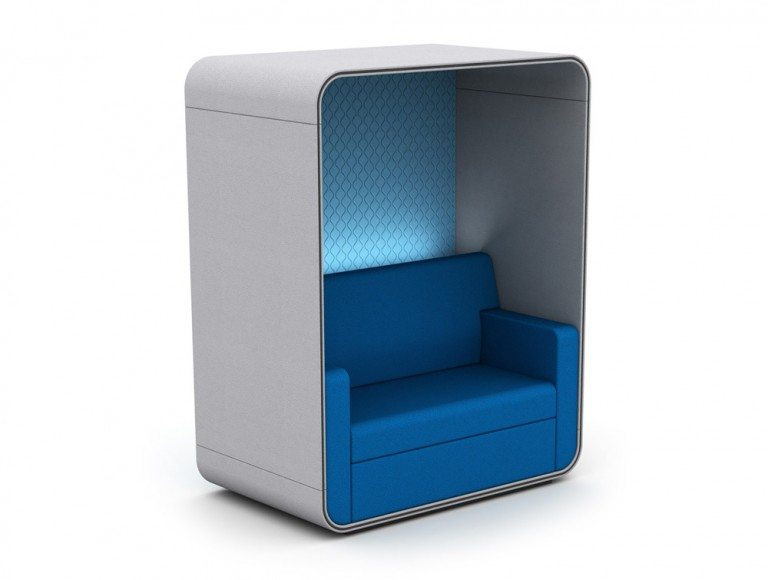 TC-ROOF Snug Sofa Booth with Roof