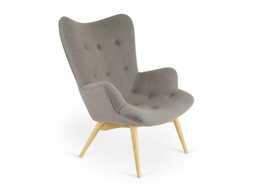 TP10050 Papa Single Armchair with Ash Legs