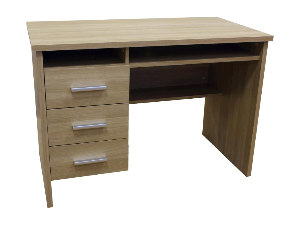 TWS-MONTANA-LO Montana Compact Multifunctional Computer Workstation in Light Oak