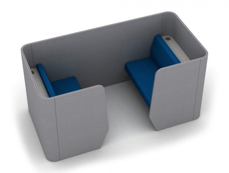 TXMPX-4-PER Zone 4-Seater Meeting Pod