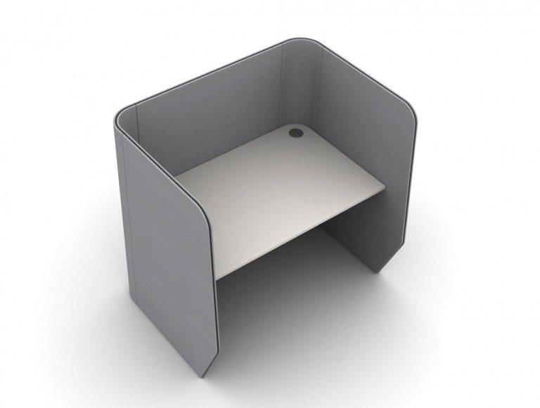 TXSDM-1-PER Zone 1-Person Desking Module
