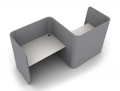 TXSDM-2-PER Zone 2-Person Desking Module