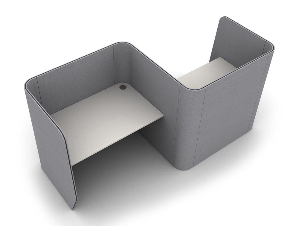 Zone 2-Person Desking Module