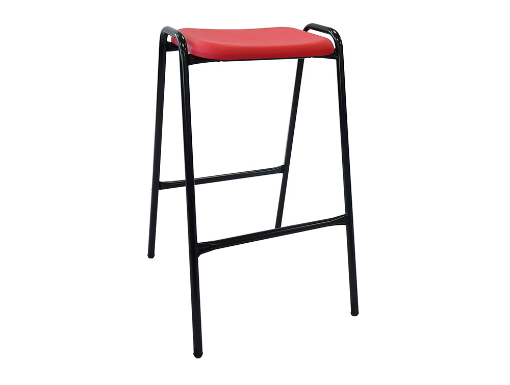 Ted 4-Leg Stackable School Lab and Canteen Stool