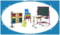 Top Image Classroom Furniture with Chair Black Board Bob Masha Desk Storage