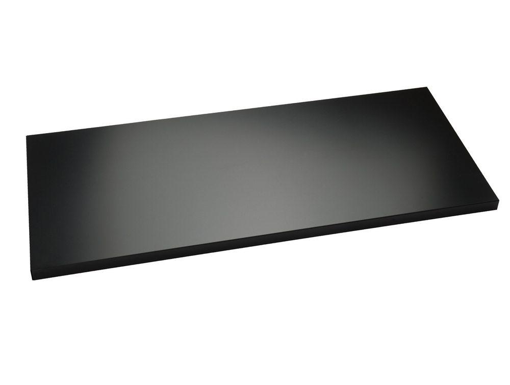 Trexus Extra Shelf Steel For 2 Door Storage Cupboard Black