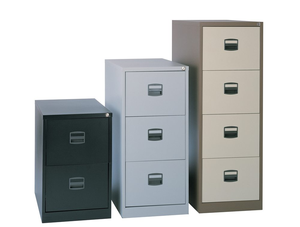 metal office cabinet trexus filing cabinet steel lockable 3 drawer 23272