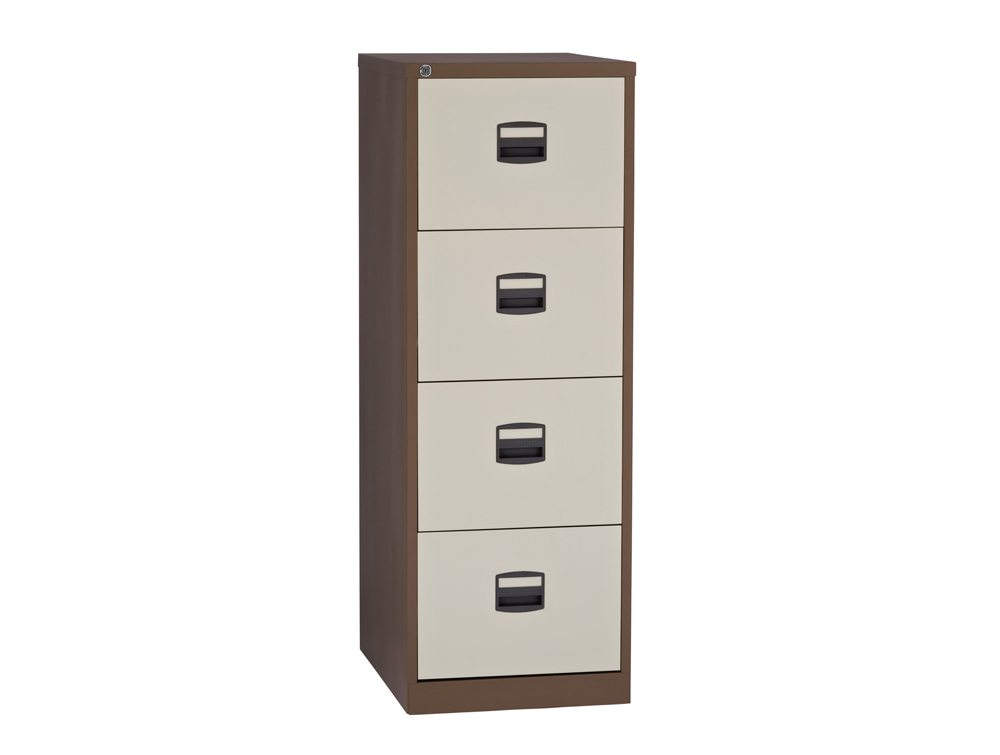 Trexus filing cabinet steel lockable drawer radius office
