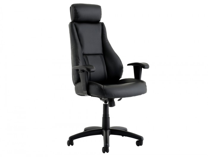 Trexus-Hampshire-Manager-Armchair-Headrest-in-Black-Leather