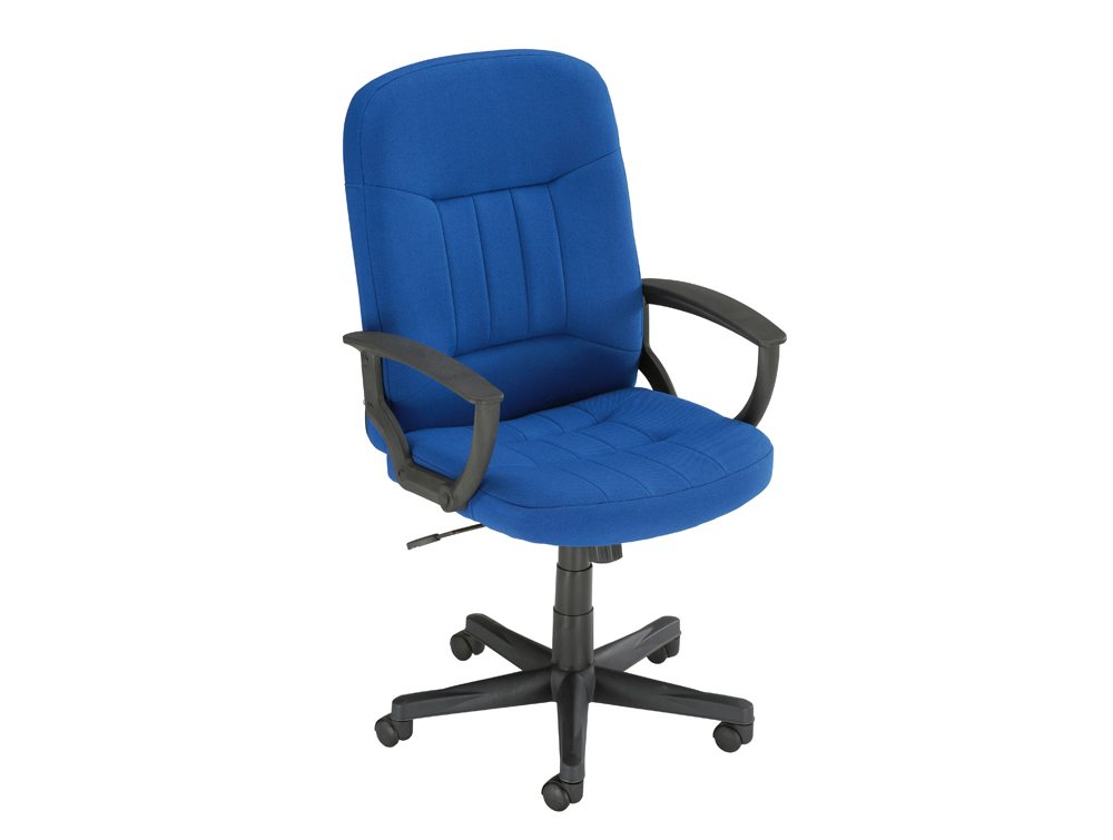 Trexus High Back Manager Armchair in Blue