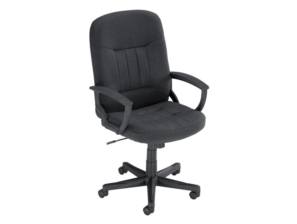 Trexus High Back Manager Armchair in Charcoal