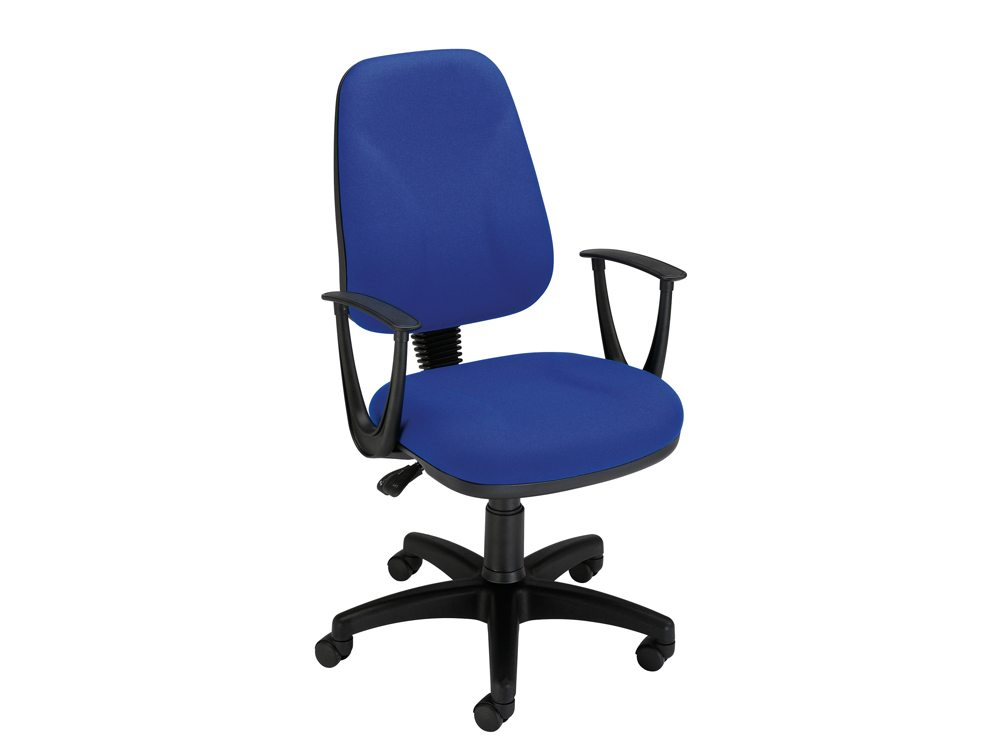 Trexus Intro High Back Permanent Contact Chair with Armrest