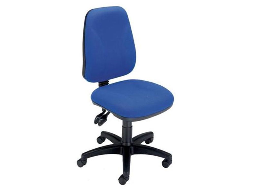 Trexus Intro High Back Permanent Contact Chair in Royal Blue