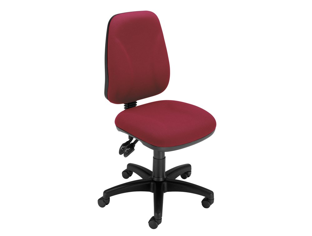 Trexus Intro High Back Permanent Contact Chair in Claret