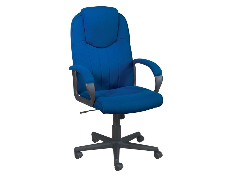 Trexus Intro Managers Armchair with High Back in Blue