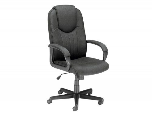Trexus Intro Managers Armchair with High Back in Charcoal