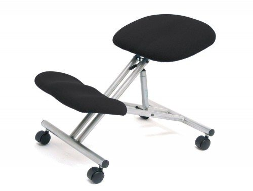 Trexus Kneeling Office Chair Steel Framed on Castors Gas Lift Seat