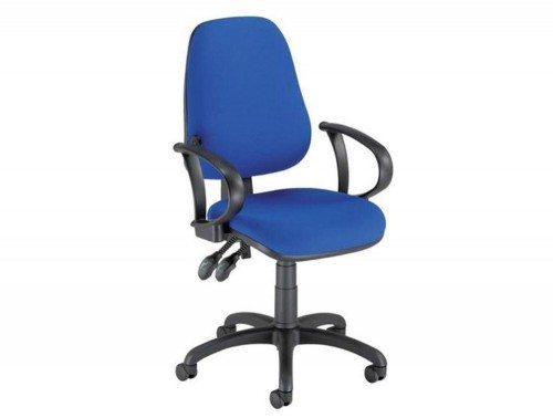Trexus Lumb Air High Back Operators Armchair Back with Armrest