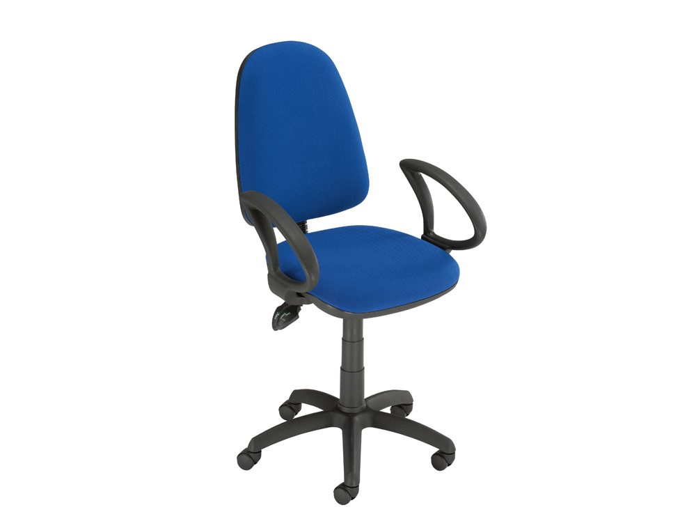 Trexus Office Operator Chair Asynchronous High Back with Armrest