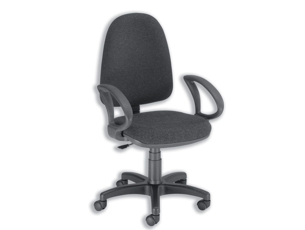Trexus Office Operator Chair Permanent Contact High Back
