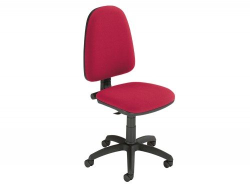 Trexus Office Operator Chair Permanent Contact High Back without Armrest in Red