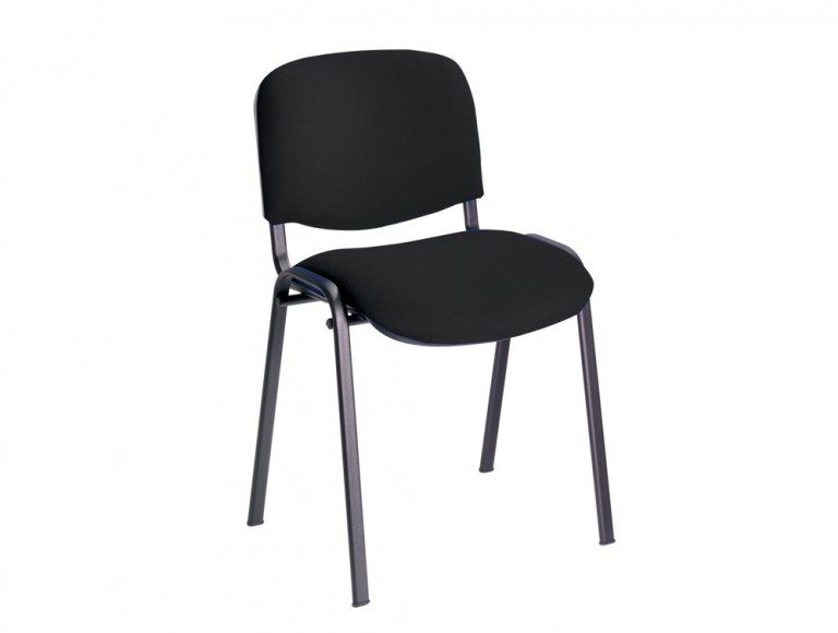 Trexus Stacking Chair Upholstered with Shaped Seat