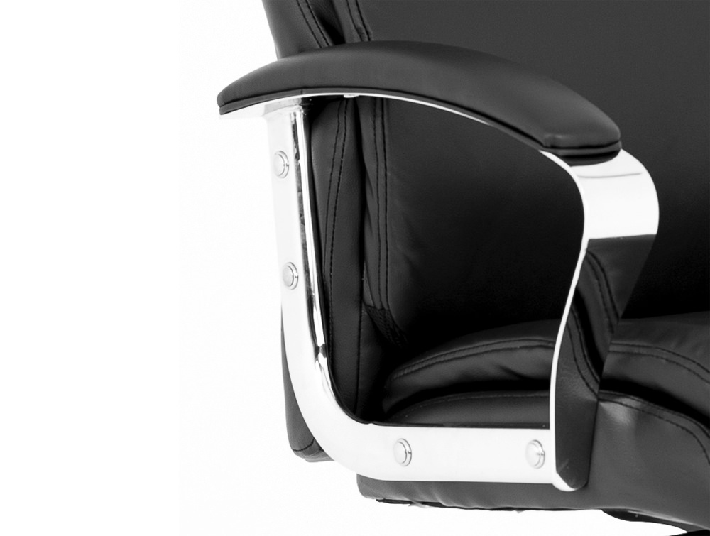 Tunis-Executive-Chair-Padded-Arms-Chrome-Feature