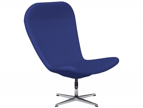 Twist 4-Star Base Swivel Armchair E031 Navy