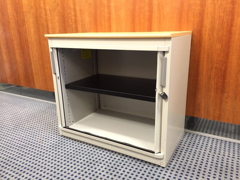 Steelcase? Tambour door storage unit (small)