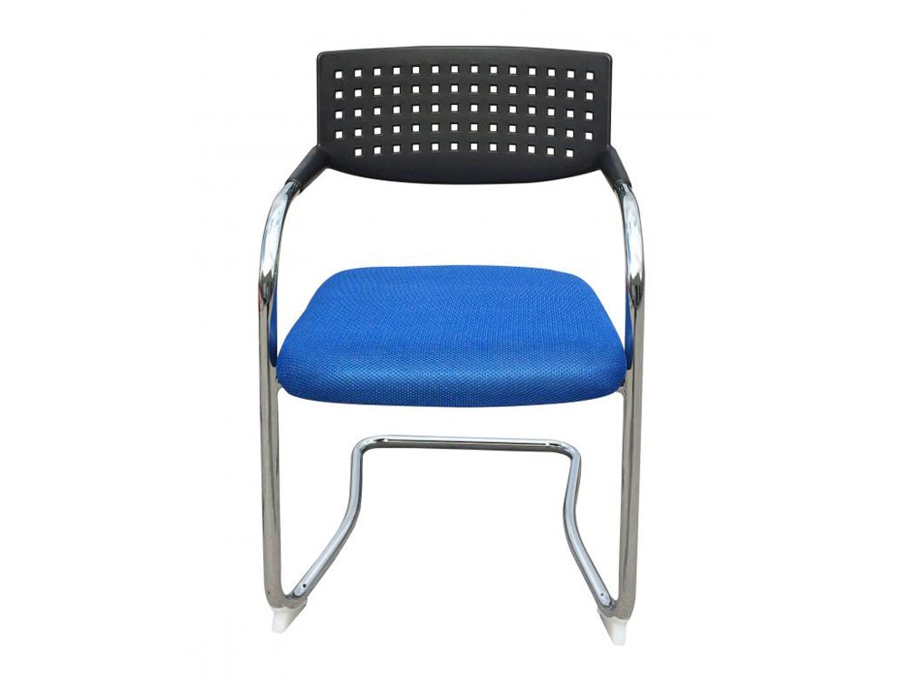 Visa Mid-back Stacking Meeting Room Chair - Blue