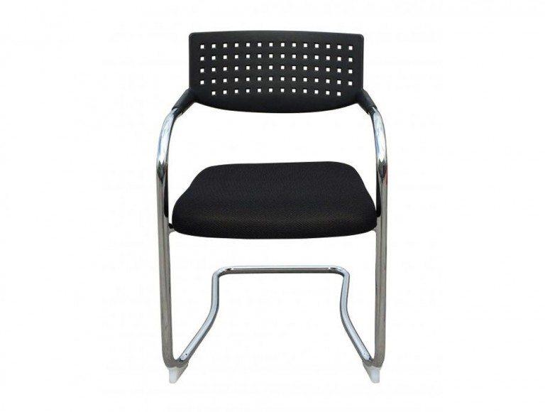 Visa Mid-back Meeting Room Chair in Black