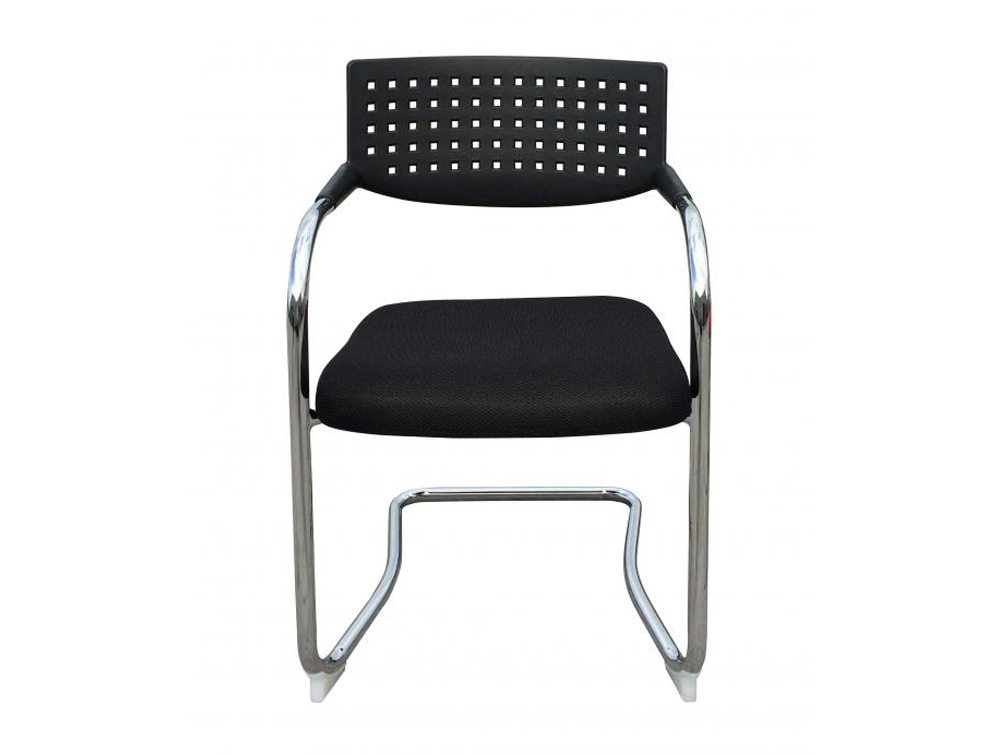 Visa Mid-back Stacking Meeting Room Chair - Black
