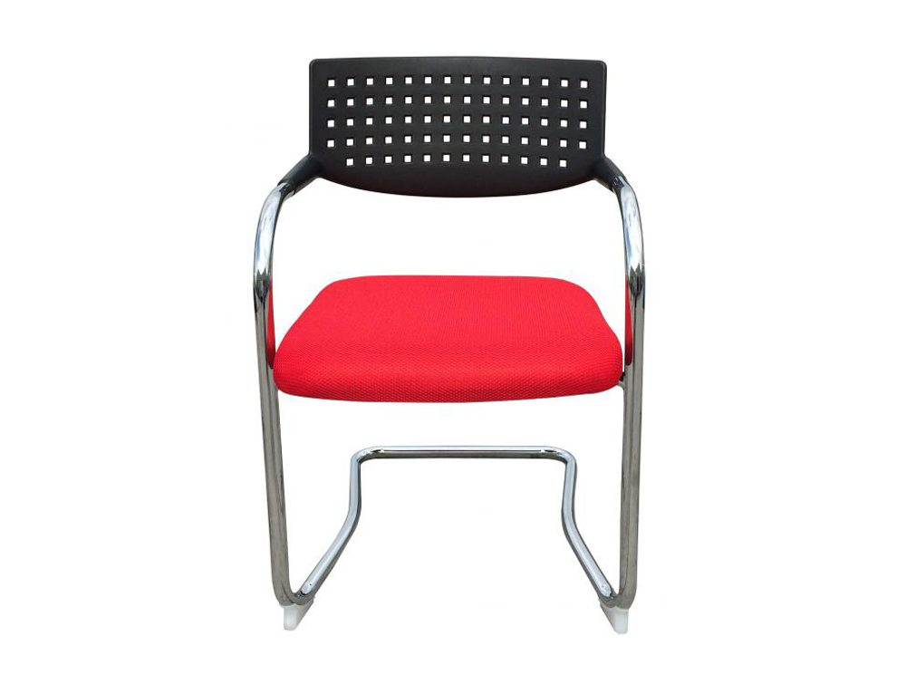Visa Mid-back Stacking Meeting Room Chair - Red