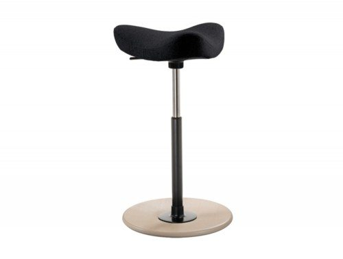 Varier Move Sit-Stand Stool - Model VR006R Black color