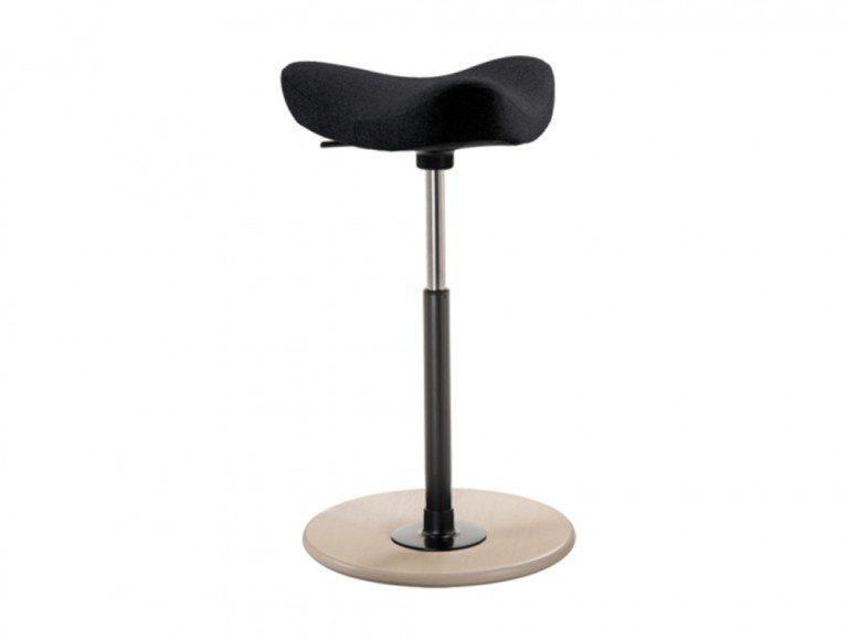 Varier Move Sit-Stand Stool - Model VR006R Black color