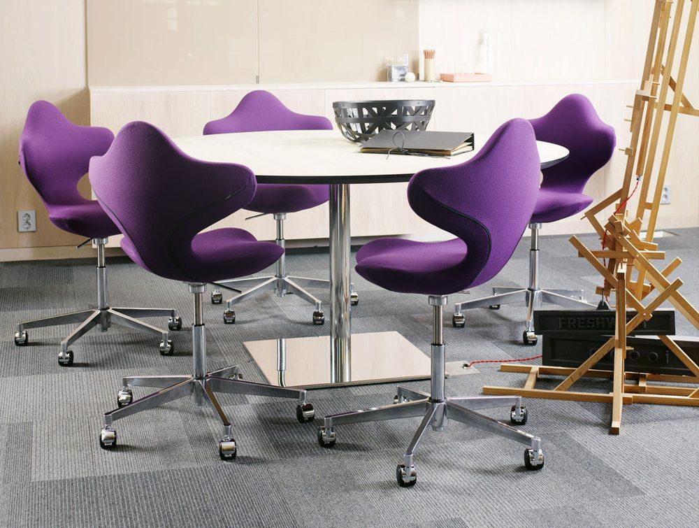 Varier Active Office Ergonomic Chair in violet