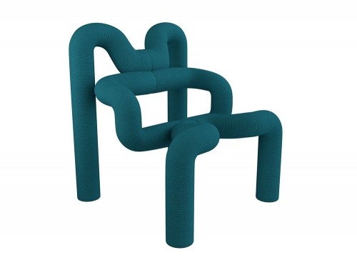 Varier-Ekstrem-Chair-with-Blue-Fabric
