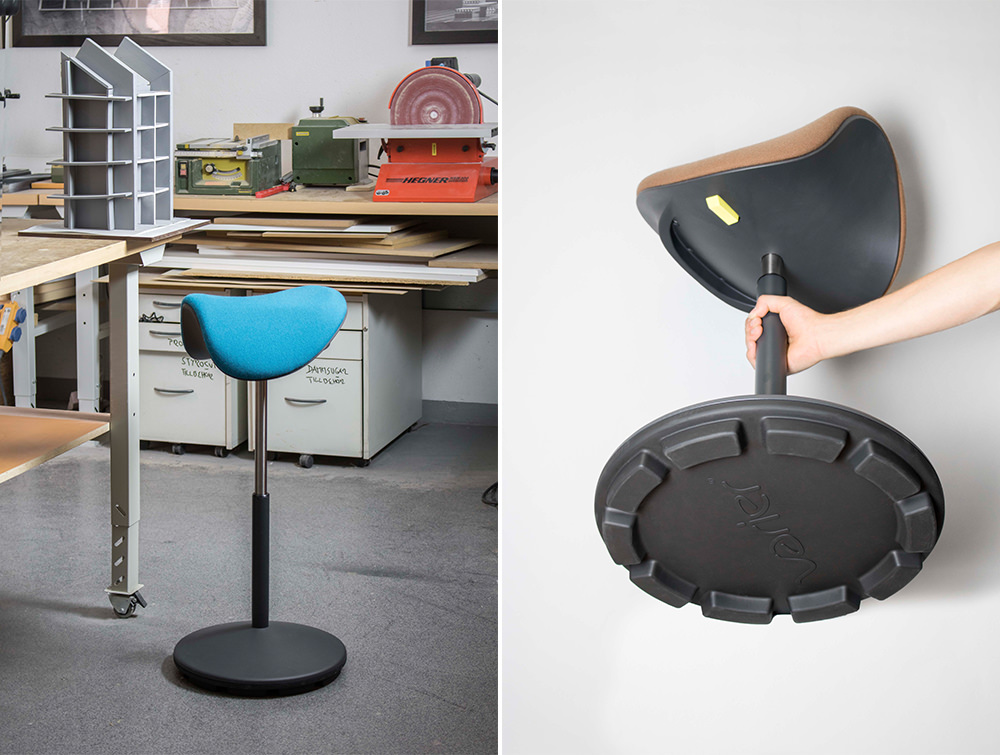 Varier-Motion-Sit-Stand-Stool-is-Lightweight-and-Easy-to-Carry
