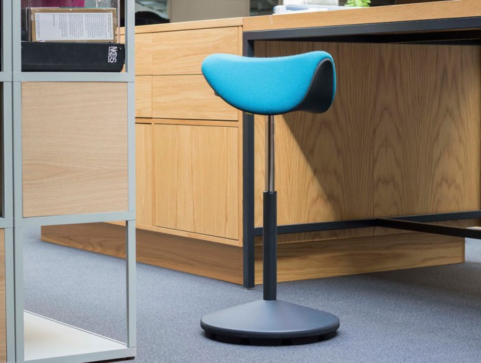 Varier-Motion-Sit-Stand-Stool-with-Light-Blue-Seat