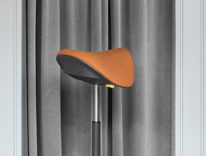 Varier-Motion-Sit-Stand-Stool-with-Orange-Seat