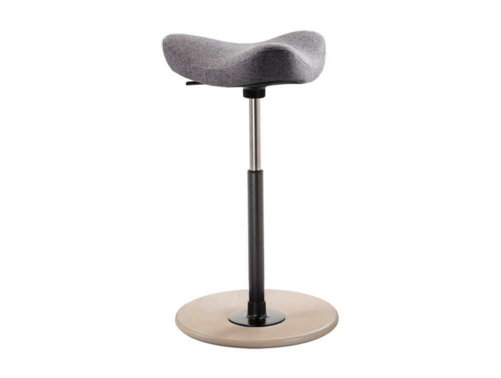 Varier Move Sit-Stand Stool in light grey