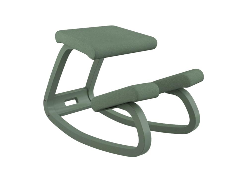 Varier Variable Monochrome Kneeling Chair in Fern