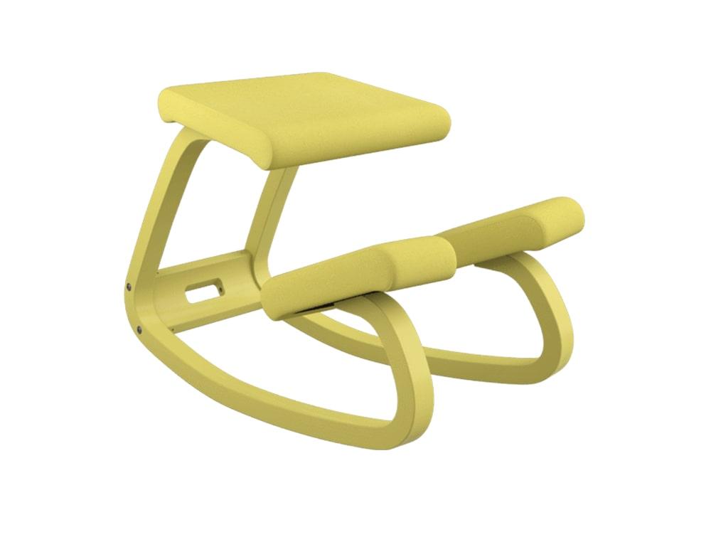 Varier Variable Monochrome Kneeling Chair in Ochre