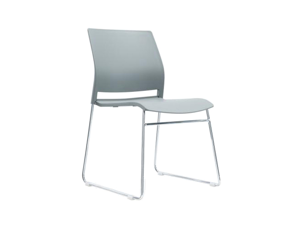 Verse Multipurpose Stacking Chair in Grey